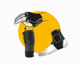 NOVINKY V E-SHOPU: Spárové rukavice, hadinky a nákoleníky